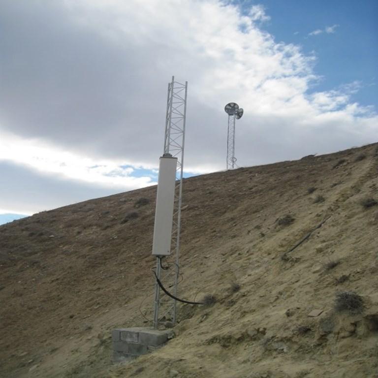 پروژه تکرارکننده موبایل – سد ابیورد – درگز