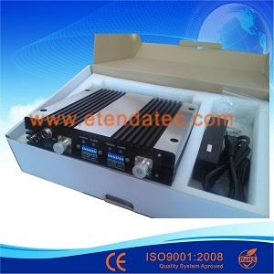 دستگاه پر قدرت تکرار کننده سیگنال موبایل دو باند 27DBM